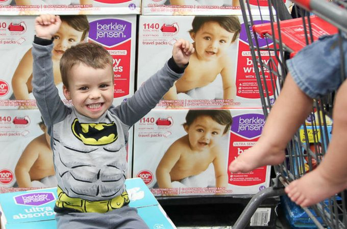 Save money by buying diapers at BJ's Wholesale Club