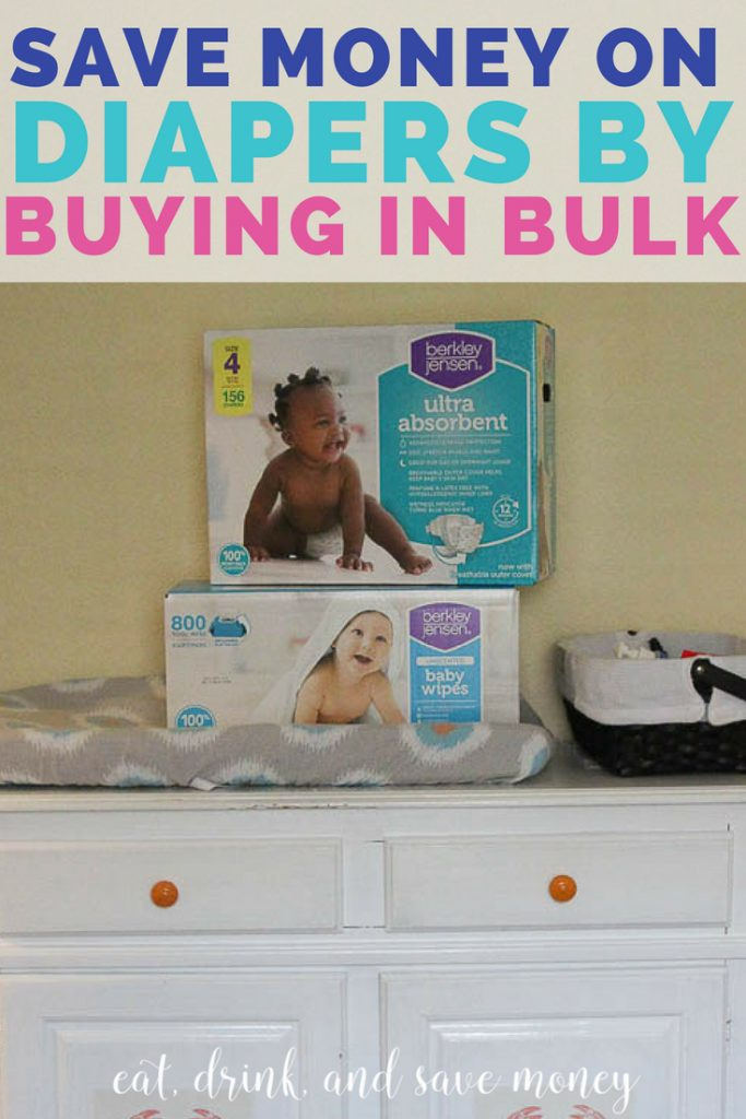 Save money on diapers by buying in bulk bjs