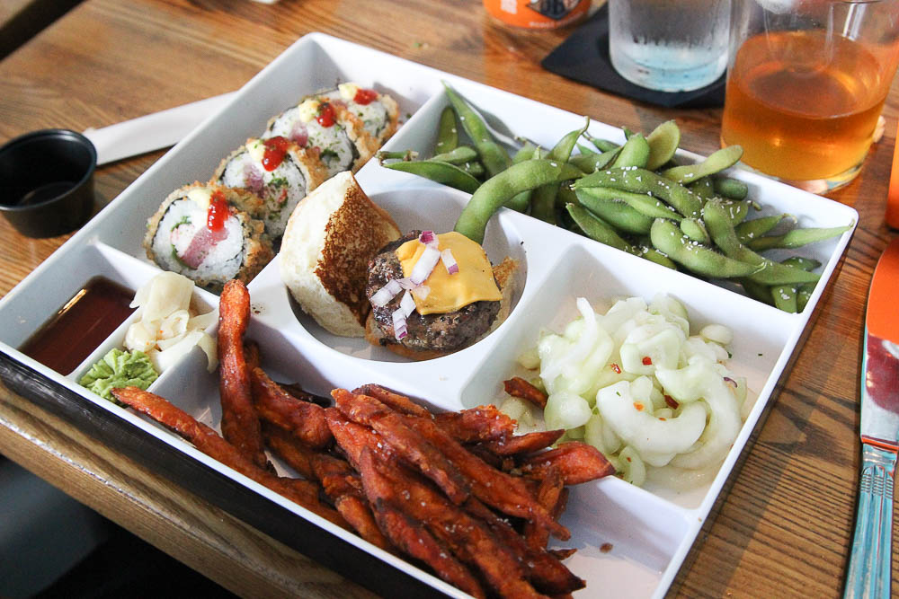 Bento Box at Cowfish in Citywalk Universal Studios Orlando