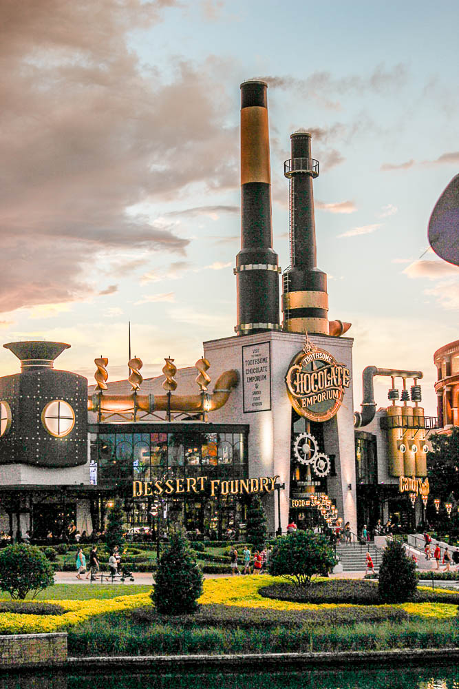 Toothsome chocolate emporium at CityWalk Universal Where to eat at CityWalk