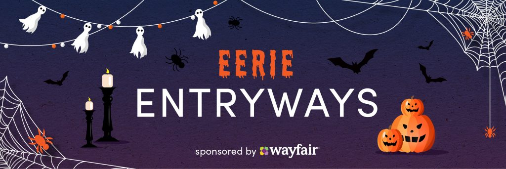 1018 Wayfair Eerie Entryways Banner