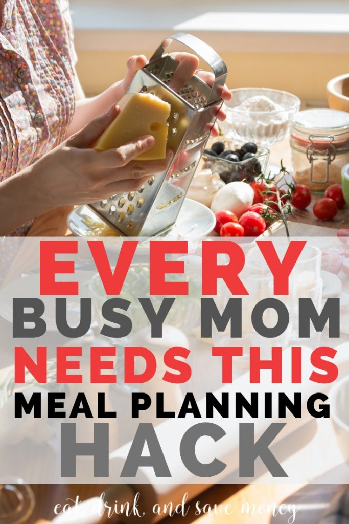 The meal planning hack that every mom needs to save time and money. A Make do night is perfect for a lazy night. #savemoney