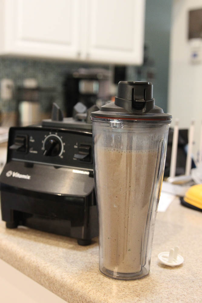 Vitamix personal cup adaptor single serve smoothie