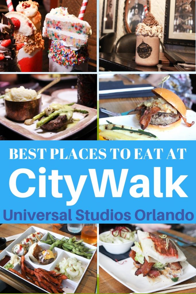 Where to eat at CityWalk Universal Studios Orlando #familytravel #orlando #citywalk #universalstudios #universal #readyforuniversal