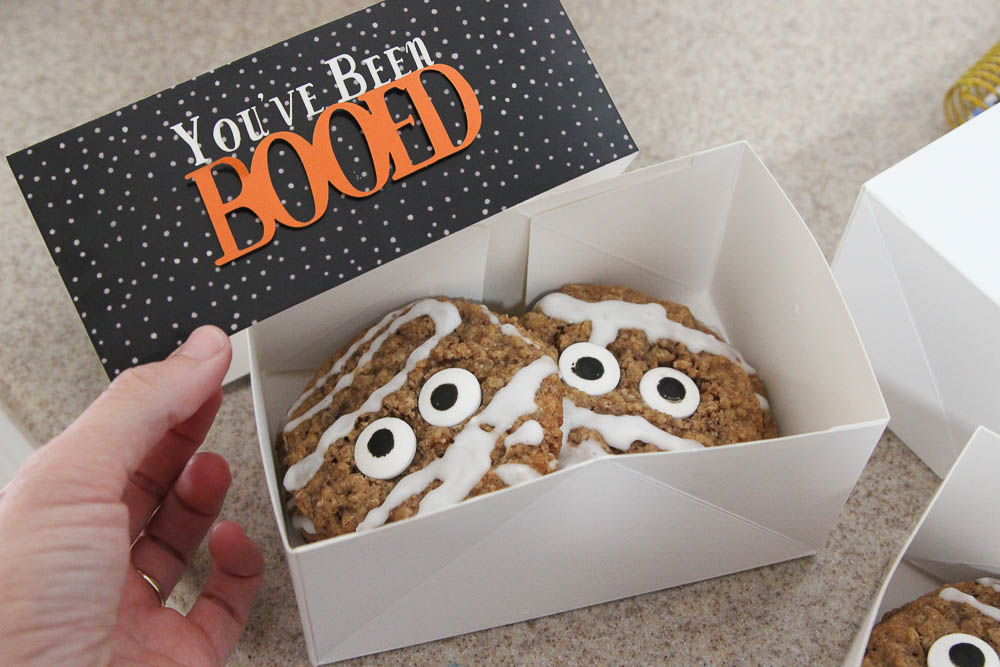 You've been boo-ed mummy cookies-11