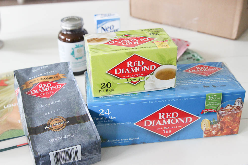 Red diamond coffee and tea
