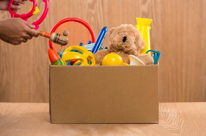 Donate old toys