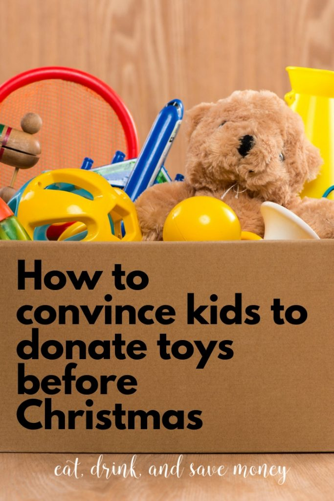 How to convince kids to donate toys before Christmas #Christmas #kids #family #momlife