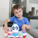 Preschooler Music Toy Review- Think and Learn Rocktopus
