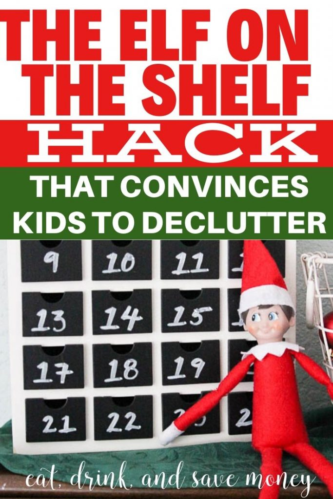 The Elf on the Shelf hack that convinces kids to declutter before Christmas