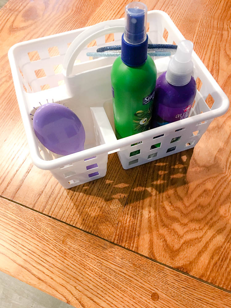 Parenting hacks how to organize hair stuff