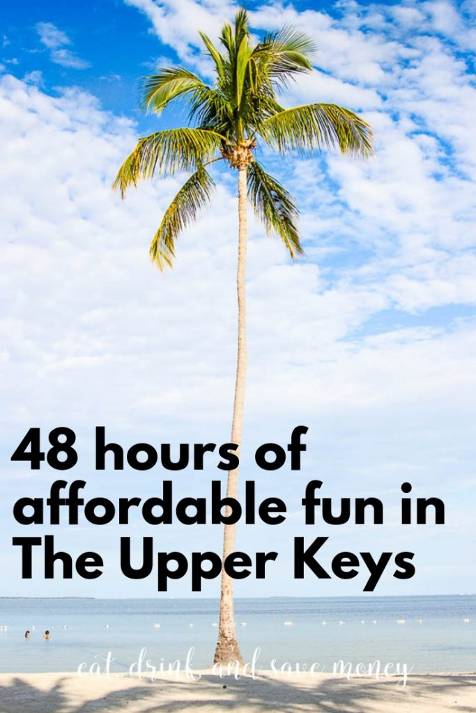 48 hours of affordable fun in the upper keys