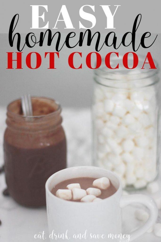 Easy homemade hot cocoa recipe