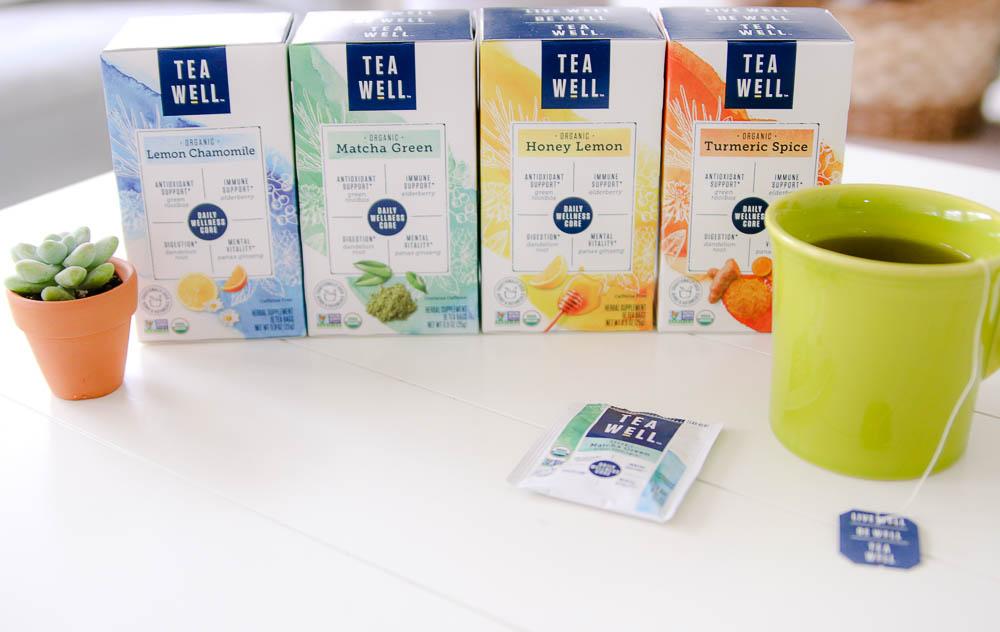 TeaWell Organic teas