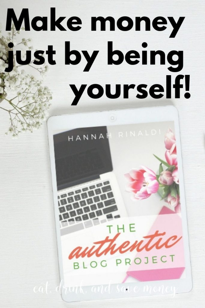 Yes, you can make money just by being yourself. Learn how to blog, how to make money blogging, and how to do it all just by being you. The Authentic Blog project.