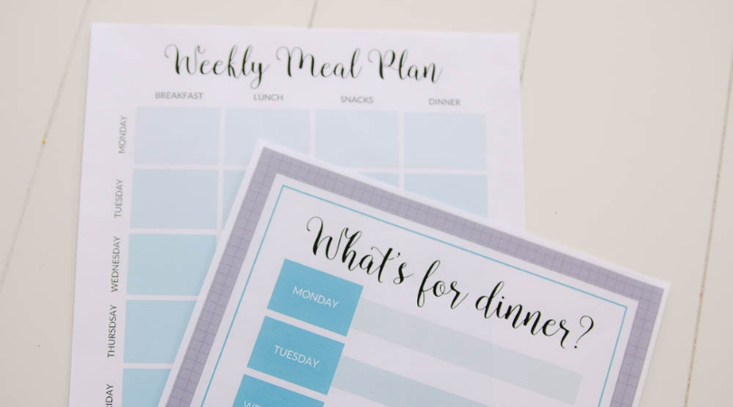 image about Free Printable Meal Plan named Free of charge Printable Weekly Supper Planner - Consume, Consume, and Conserve Financial