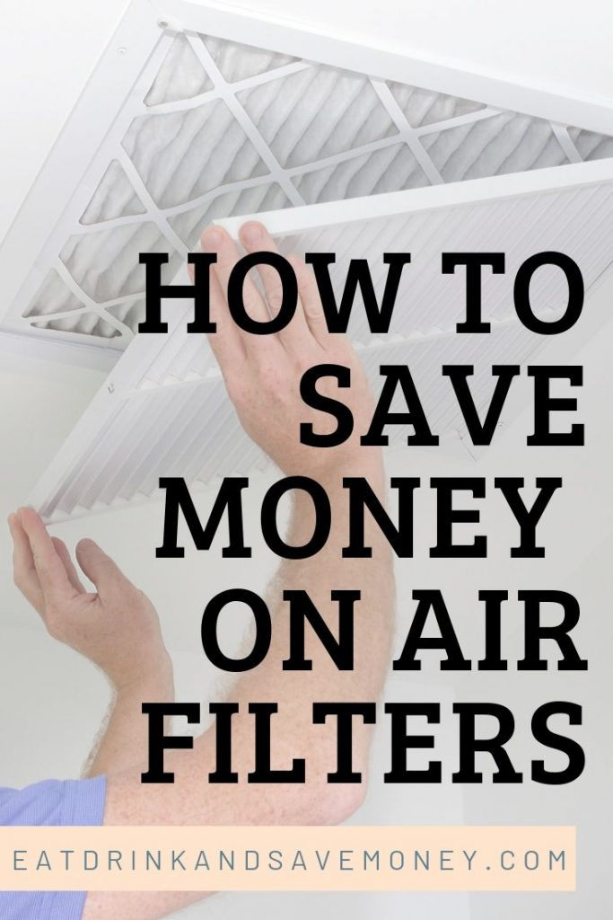 How to save money on air filters