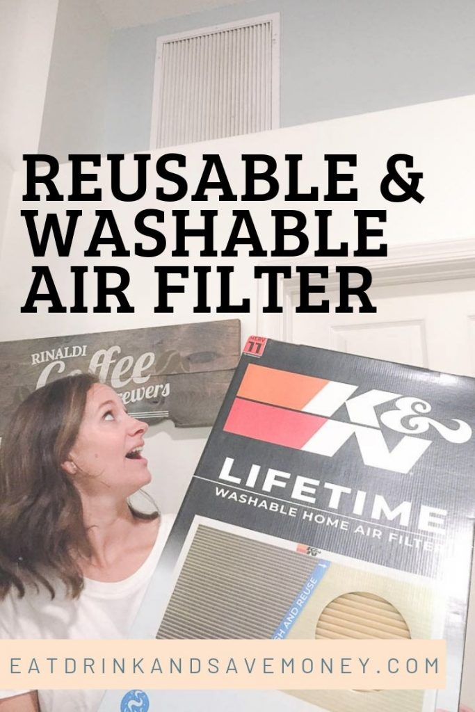 The reusable and washable air filter