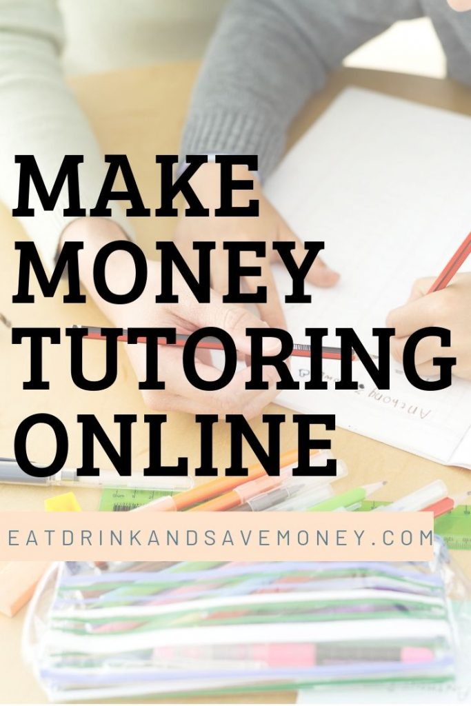 make money tutoring online