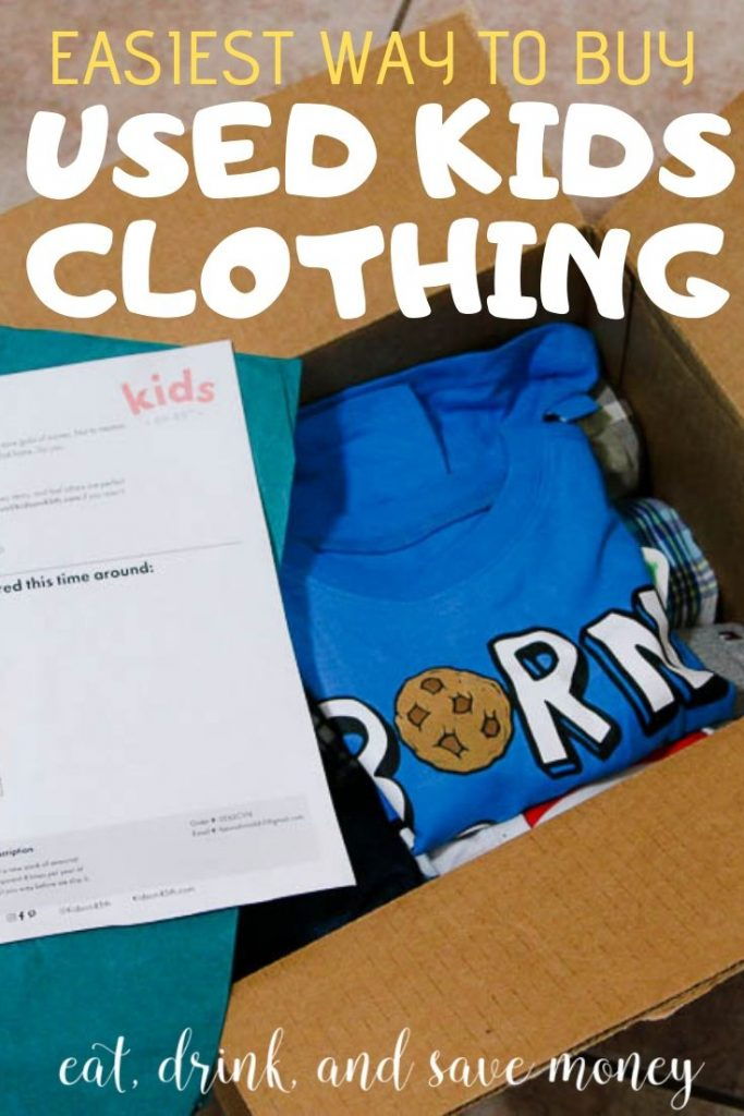 The easiest way to buy used kids clothing