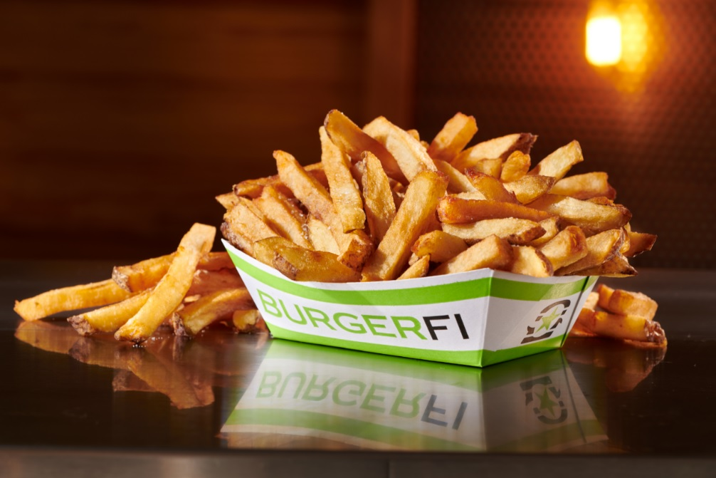 free fries at BurgerFi on national fry day