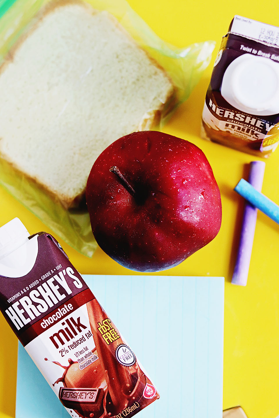 Hershey's Chocolate Milk: Back to School Ideas