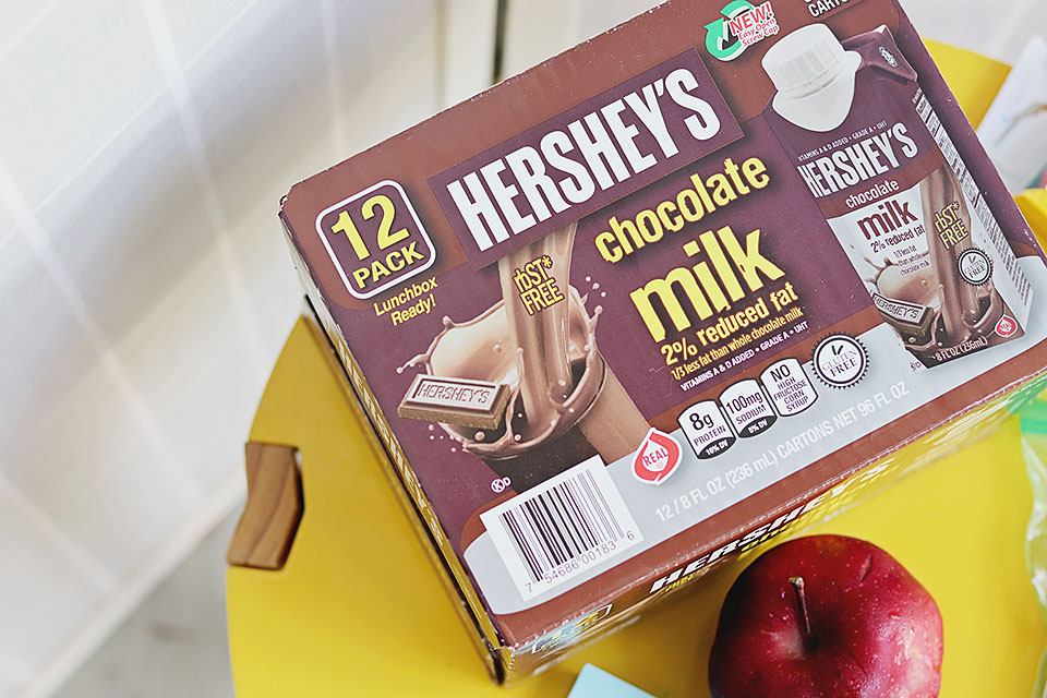 Hershey's Chocolate Milk: Back to School Ideas