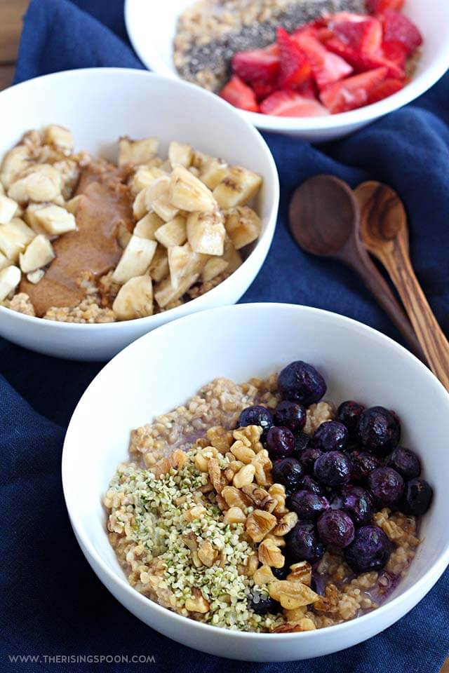 overnight steel cut oats recipe for Thanksgiving breakfast