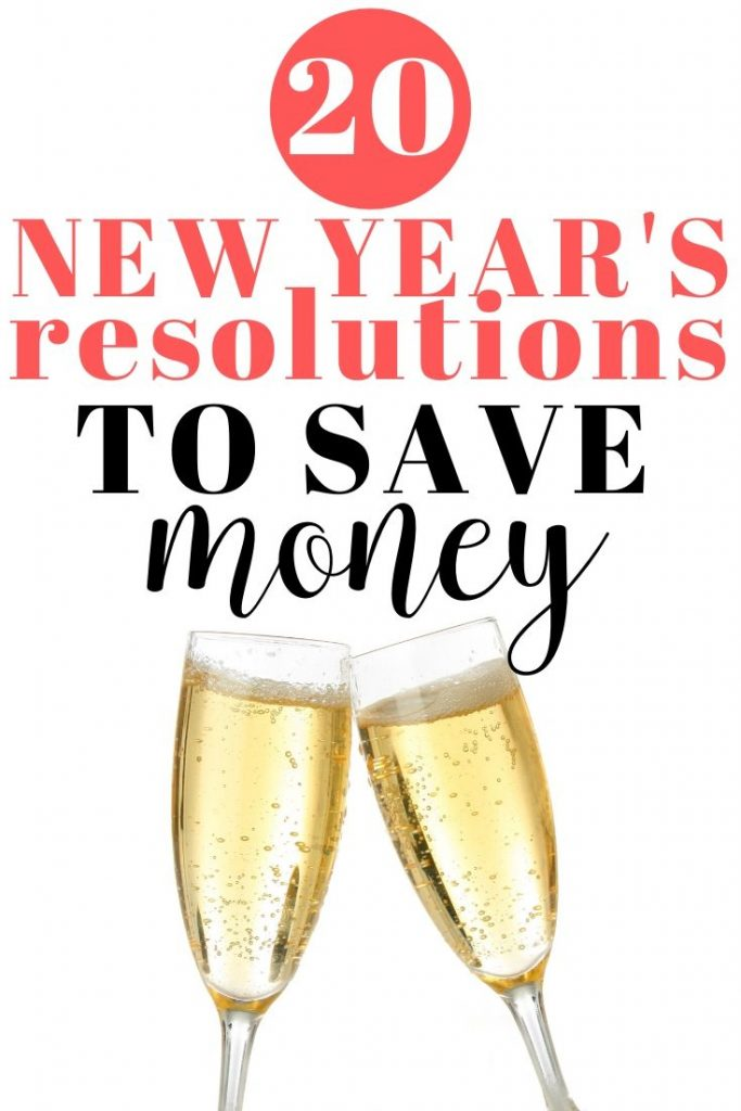 New year's resolutions to save money | how to save money in the new year