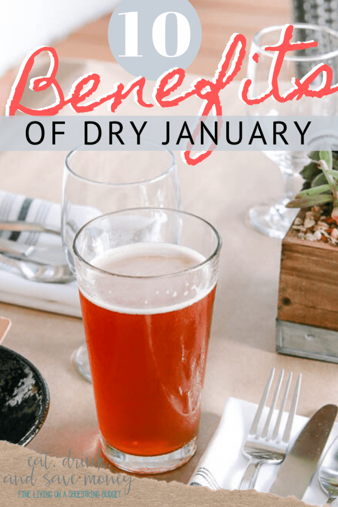 10 Benefits of Dry January