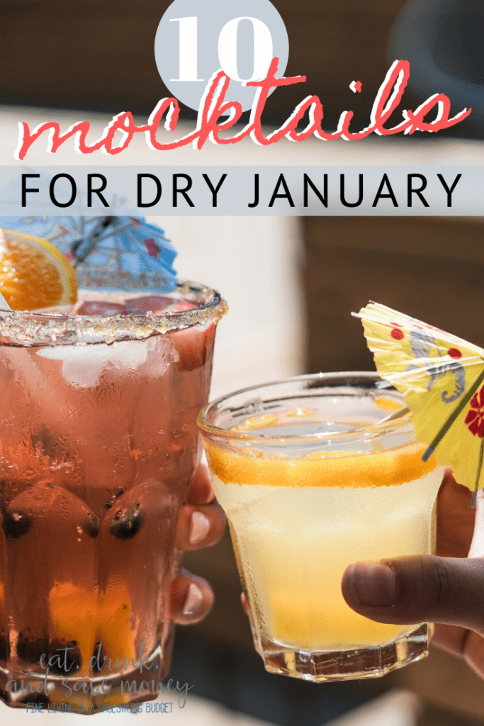 10 mocktail recipes for dry january