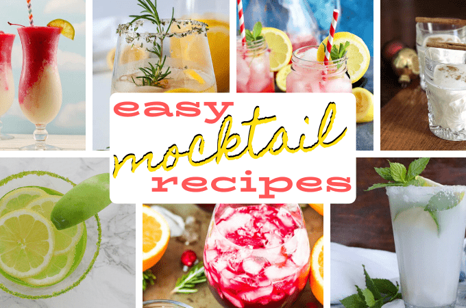 easy mocktail recipes facebook