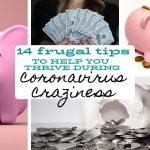 14 frugal tips for coronavirus