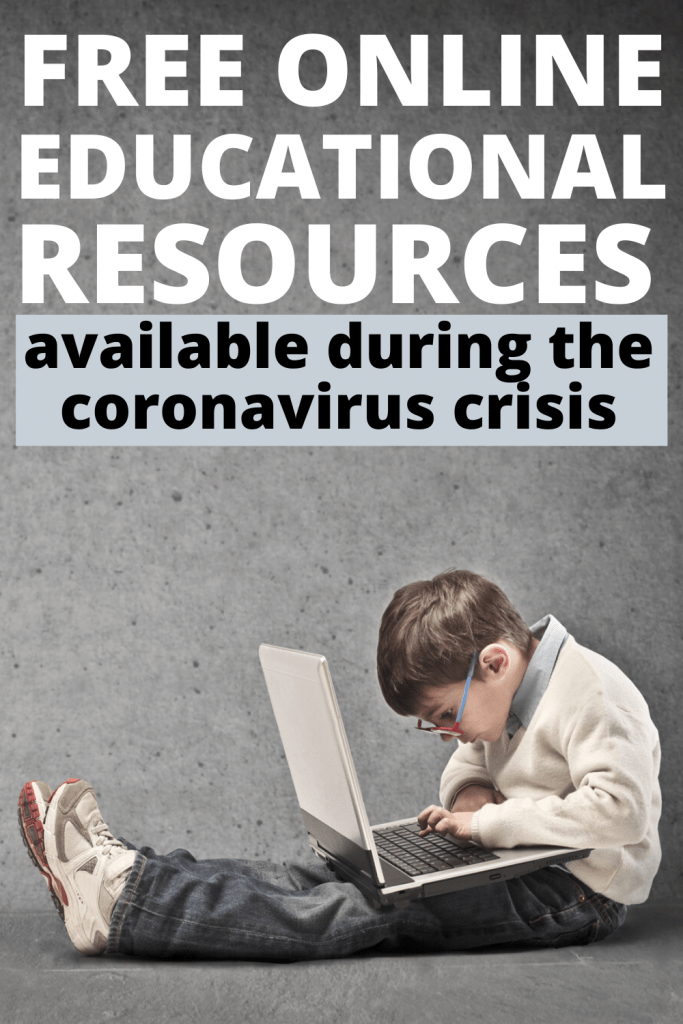 Free online educational resources available during the coronavirus crisis