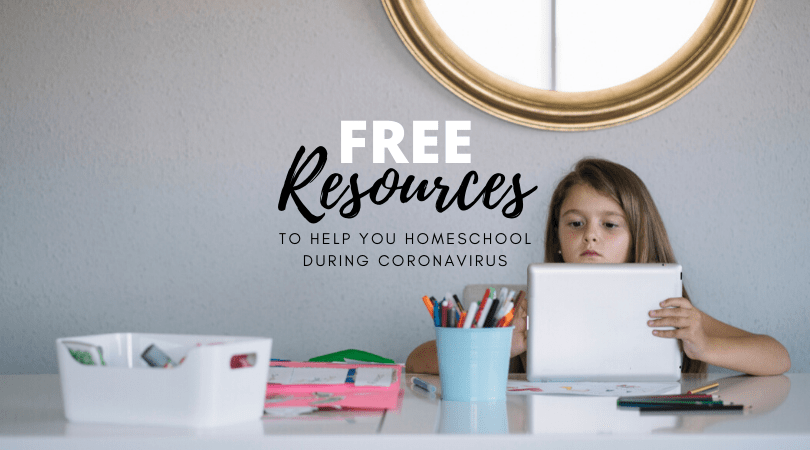 Free resources to help you homeschool during coronavirus