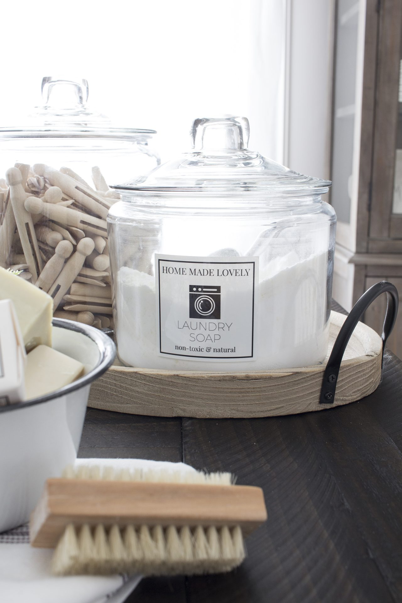 Homemade lovely laundry detergent