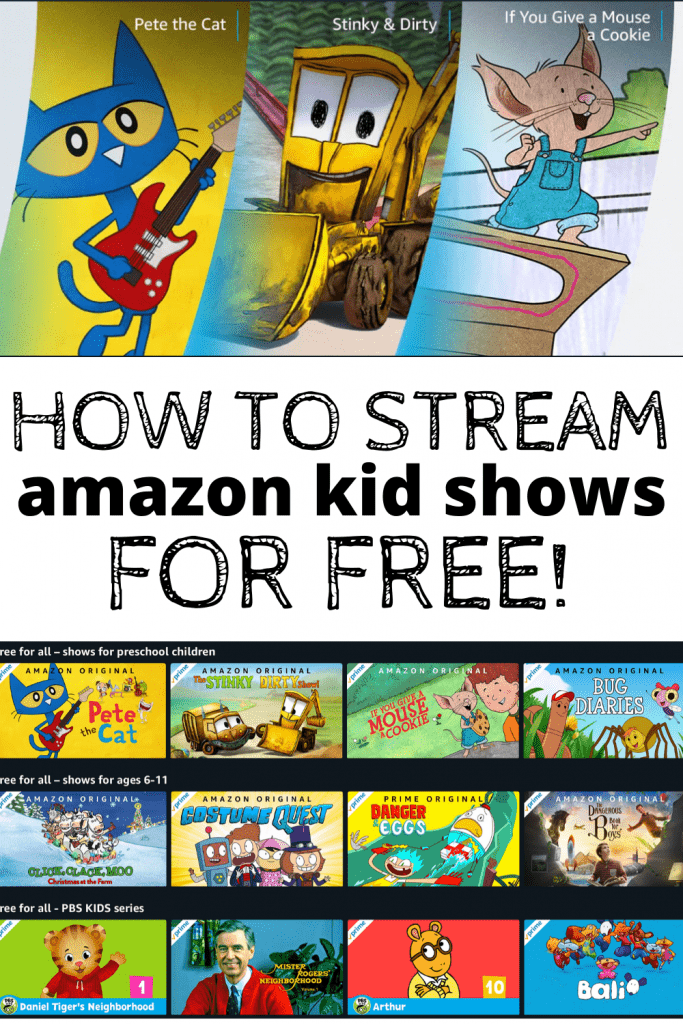How to stream Amazon kid shows for free