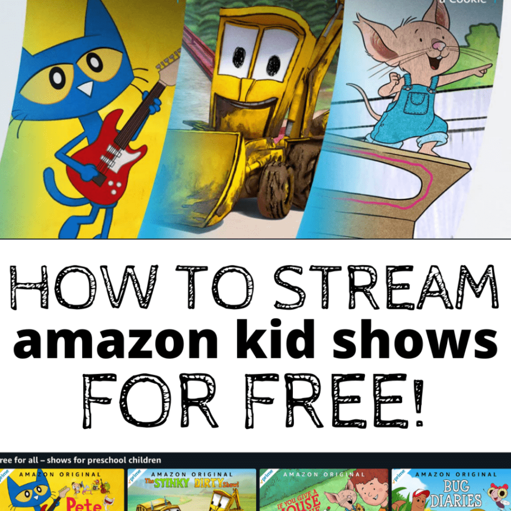 Stream amazon kid shows for free