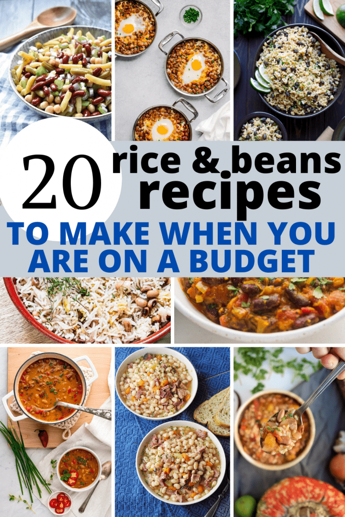 20 rice and beans recipes to make when you are on a budget