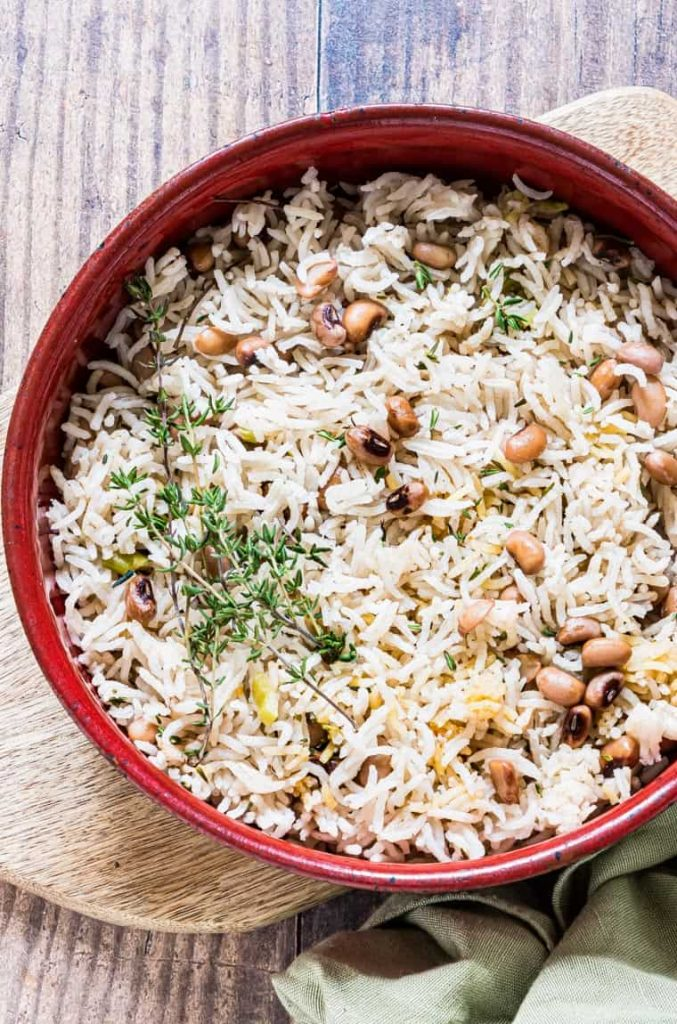 Jamaican Rice and Peas by Recipes from a Pantry