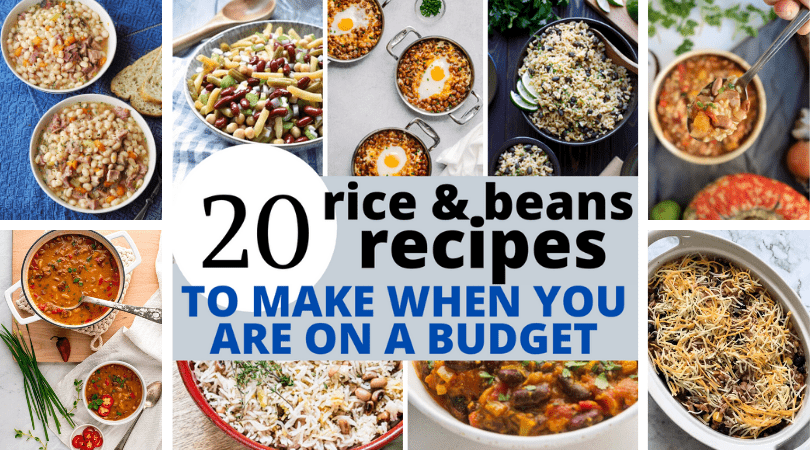 Rice and beans recipes to make on a budget