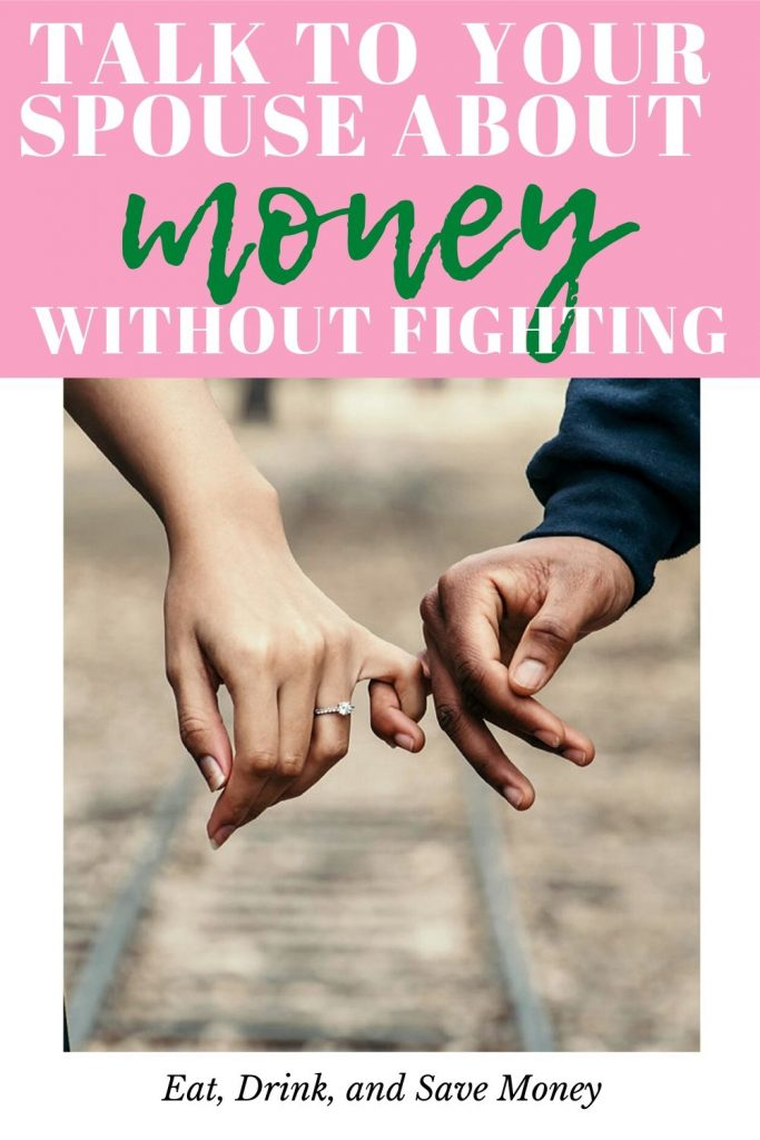 Talk to your spouse about money without fighting