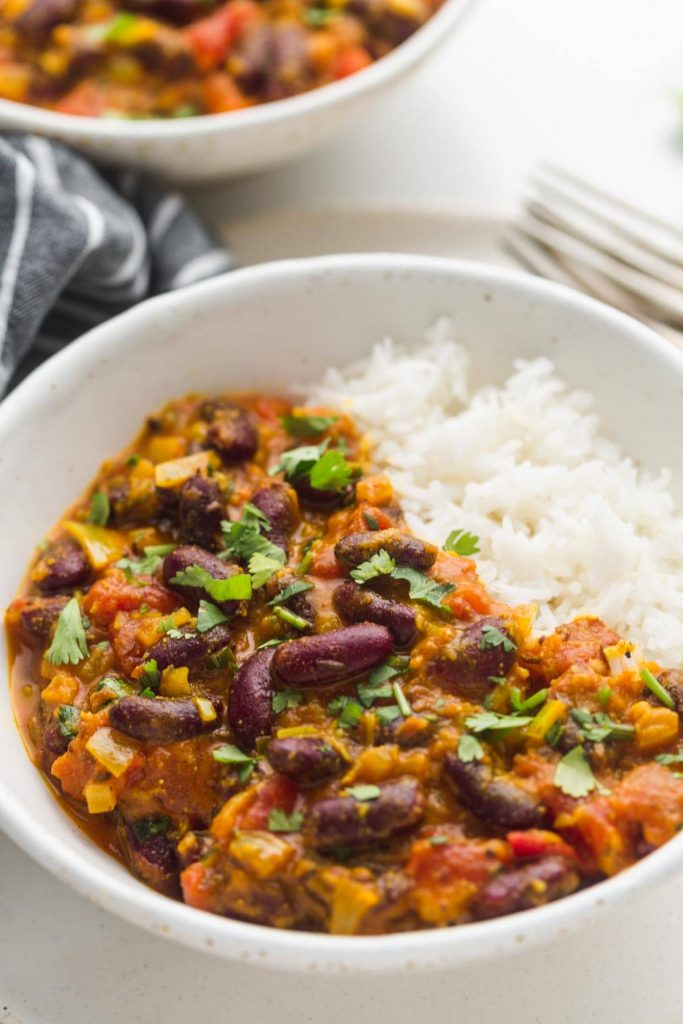 kidney bean curry by little sunny kitchen