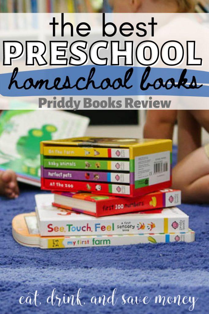 The best preschool homeschool books