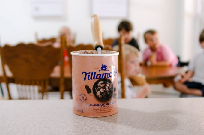 Tillamook ice cream