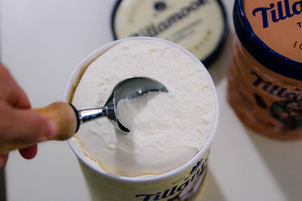 Tillamook ice creams creamy