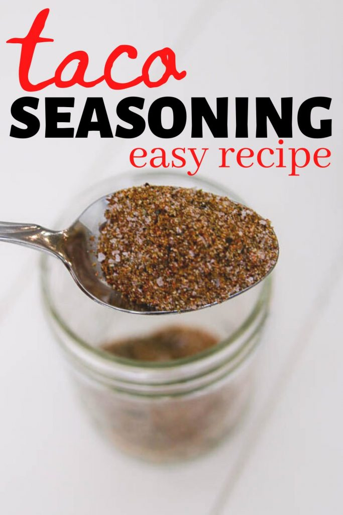 Easy taco seasoning recipe