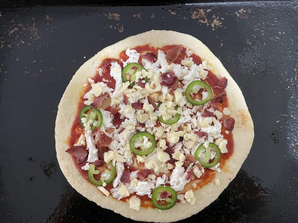jalapeno cheddar on pizza