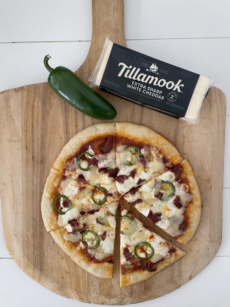 tillamook cheese on pizza