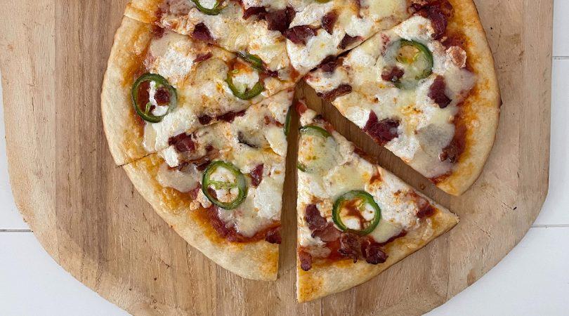 jalapeno bacon pizza
